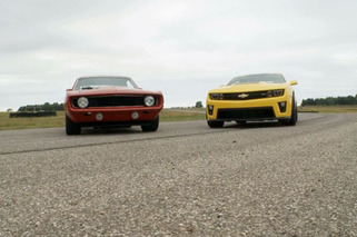 Camaro ZL1 vs 69' Camaro- Bold School vs. New School Smackdown!