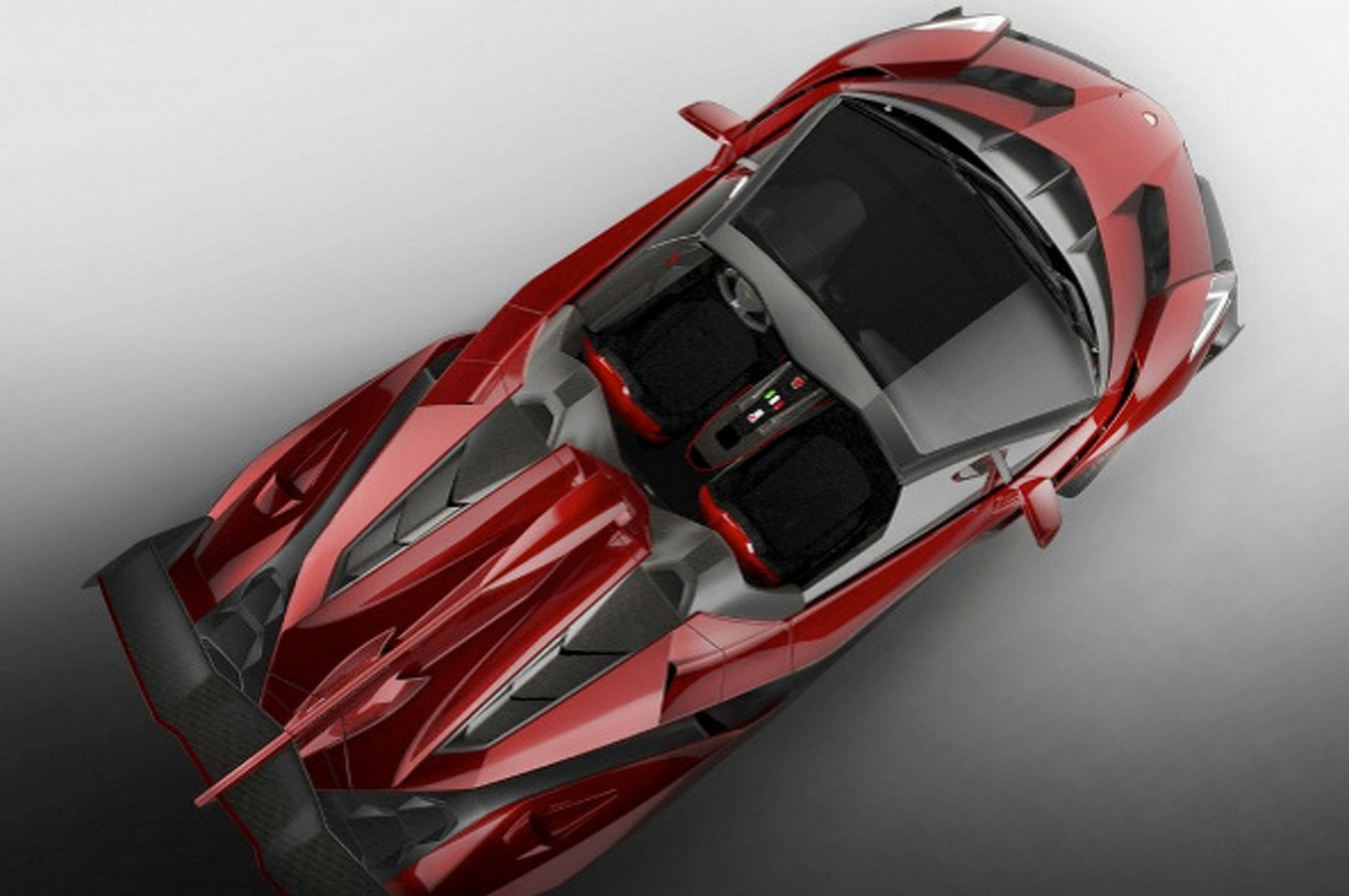 Meet the $4.5M Lamborghini Veneno Roadster