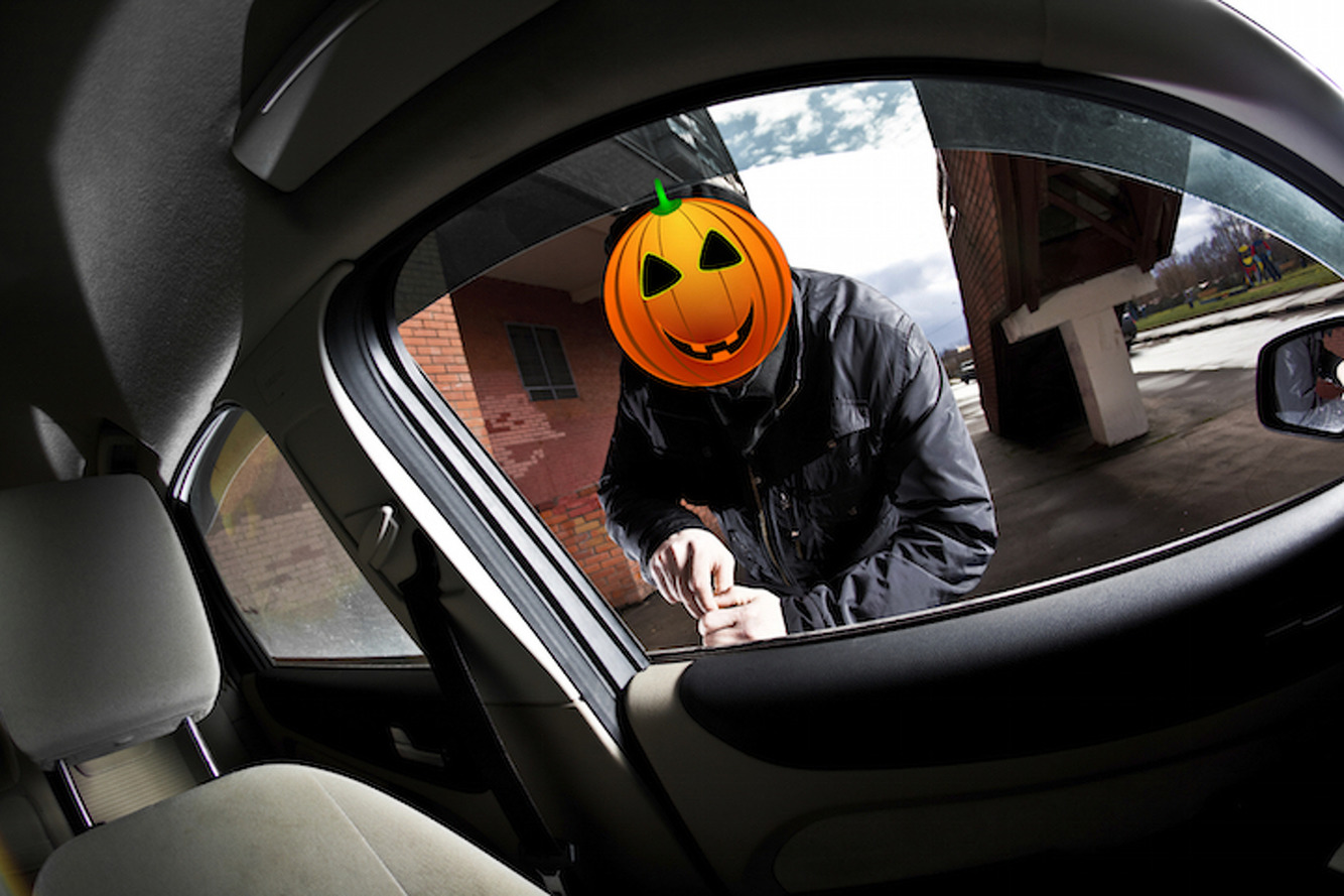 Be Afraid: Halloween is the Second Most Active Holiday for Car Thieves