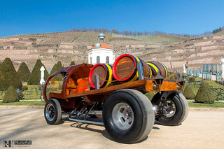 Oh Yes, This Hot Rod is Made of Wine Barrels