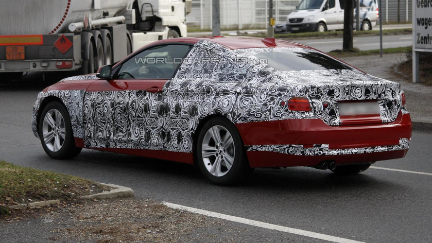 BMW 4-Series Coupe production version spied for the first time