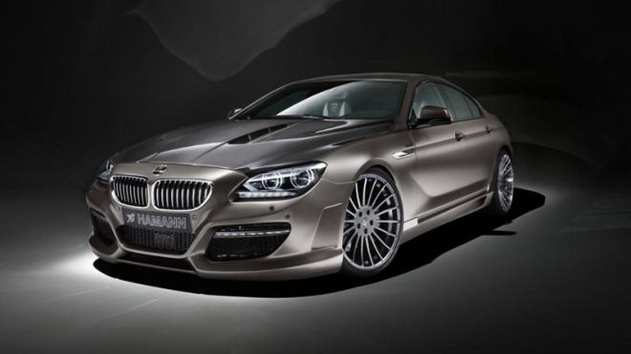 BMW 6-Series Gran Coupe tuning details released by Hamann