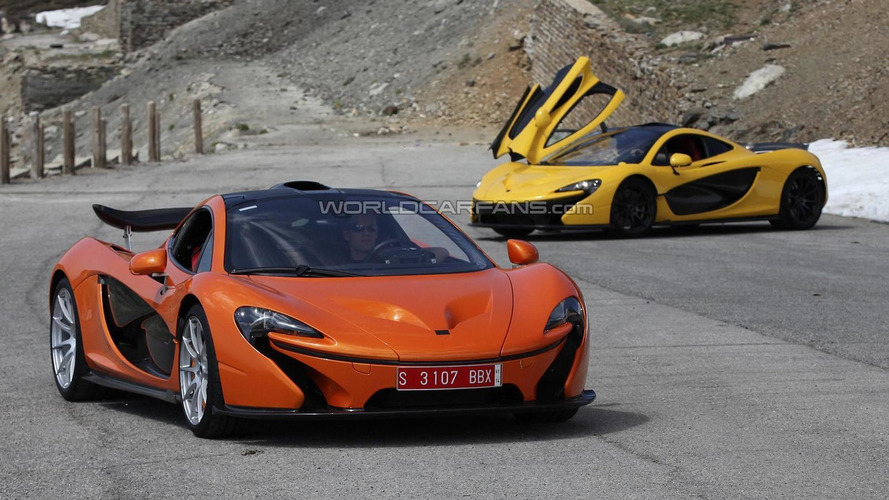 Photo appreciation: McLaren P1 pre-production