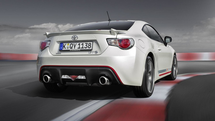 Toyota GT86 Cup Edition revealed