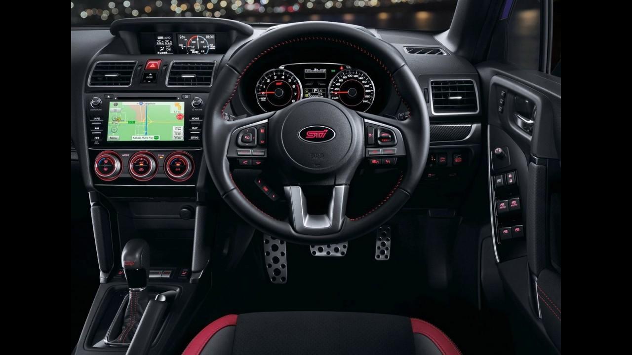 Subaru Forester ganha versão esportiva tS com 280 cv