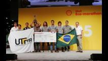 Com etanol, brasileiros fazem 316 km/l em maratona mundial de eficiência energética