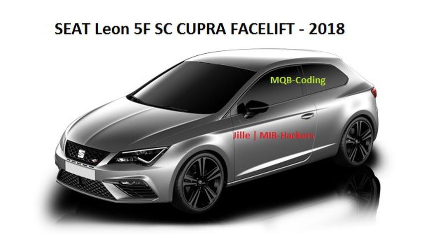 SEAT Leon Cupra, bilgi eğlence sisteminde böyle görünüyor