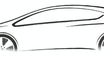 2010 Vauxhall/Opel Astra teaser sketch