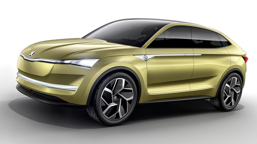 Skoda Vision E Concept Illustrates How The Brand Has Changed