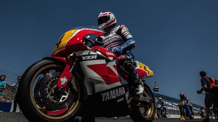 Yamaha apoya oficialmente al World GP Bike Legends