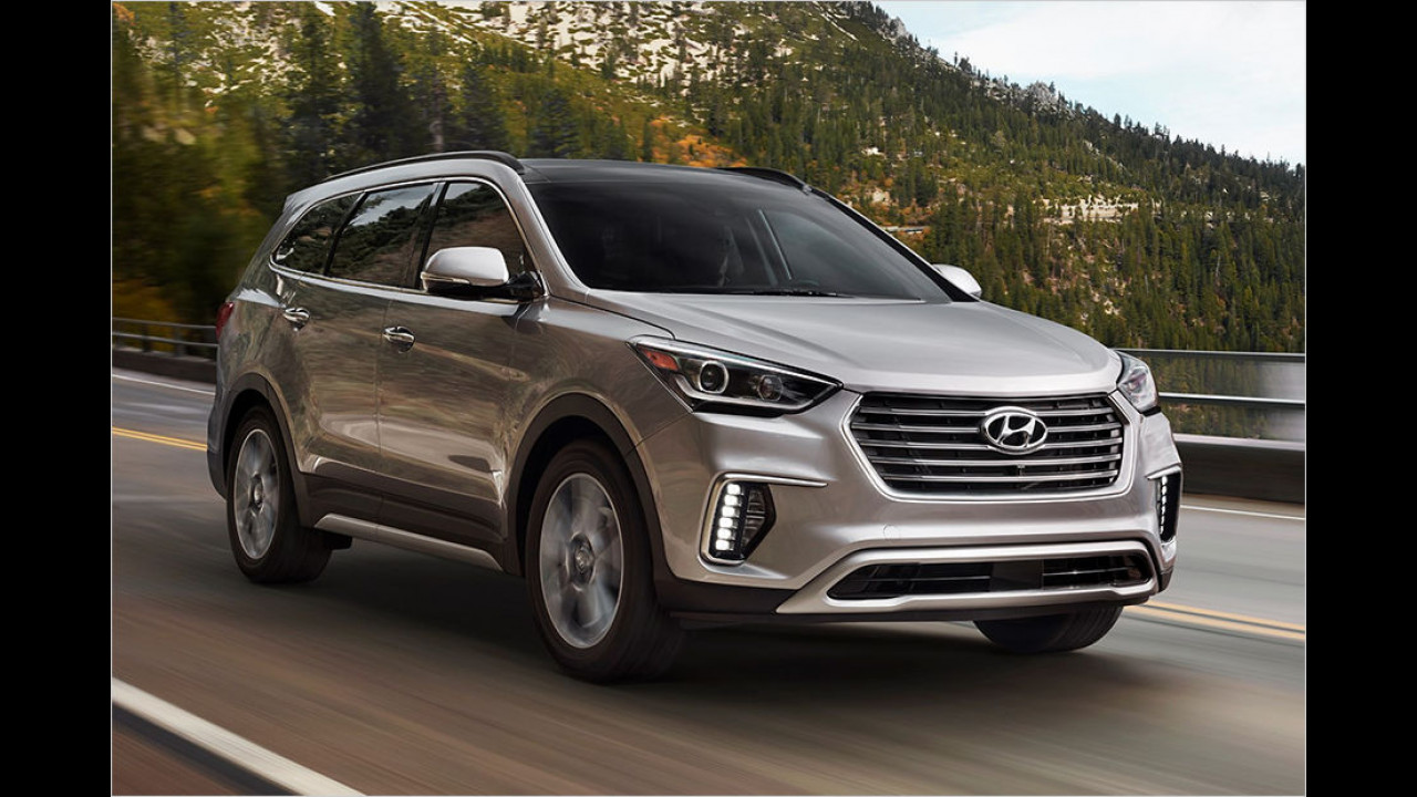 5. Hyundai Santa Fe