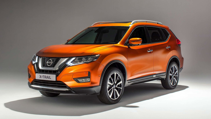 Nissan X-Trail Facelifted For 2017