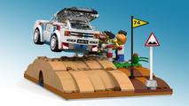 Lego - Lancia Delta e Peugeot 205 T16