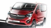 2014 Opel Vivaro design sketch