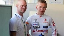 Magnussen in Malaysia for son's second race
