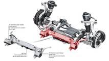 2019 Audi A8 active suspension