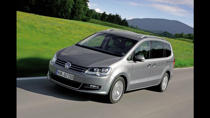 Nuova Volkswagen Sharan 2.0 TDI 140 CV