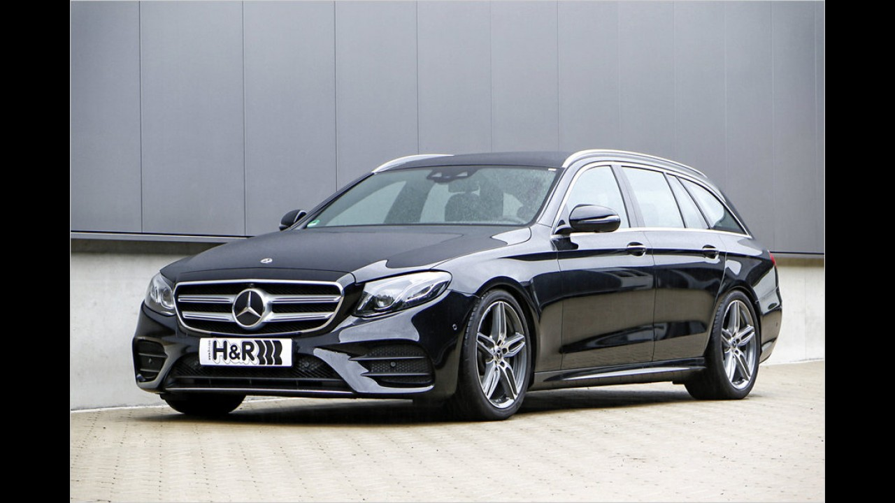Sportfedern für das Mercedes E-Klasse T-Modell
