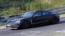 Porsche Mission E Nürburgring Spy Shots