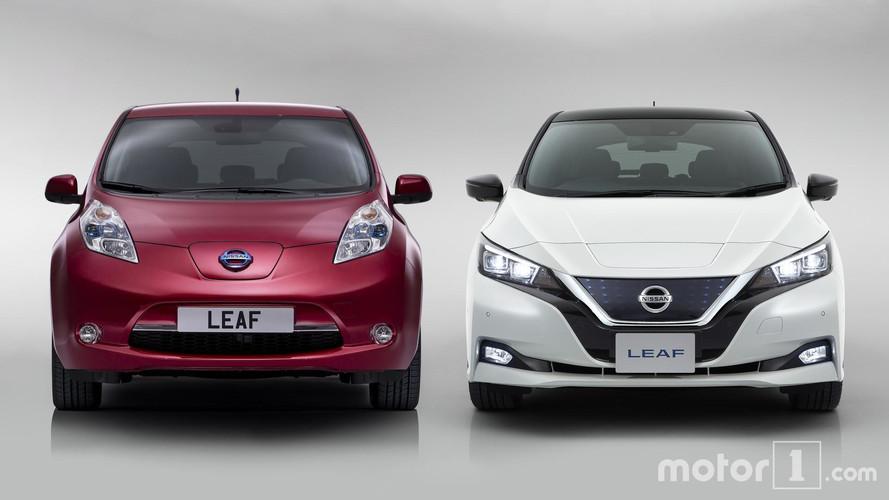 Nissan LEAF 2018: qué cambia frente a su antecesor, punto por punto