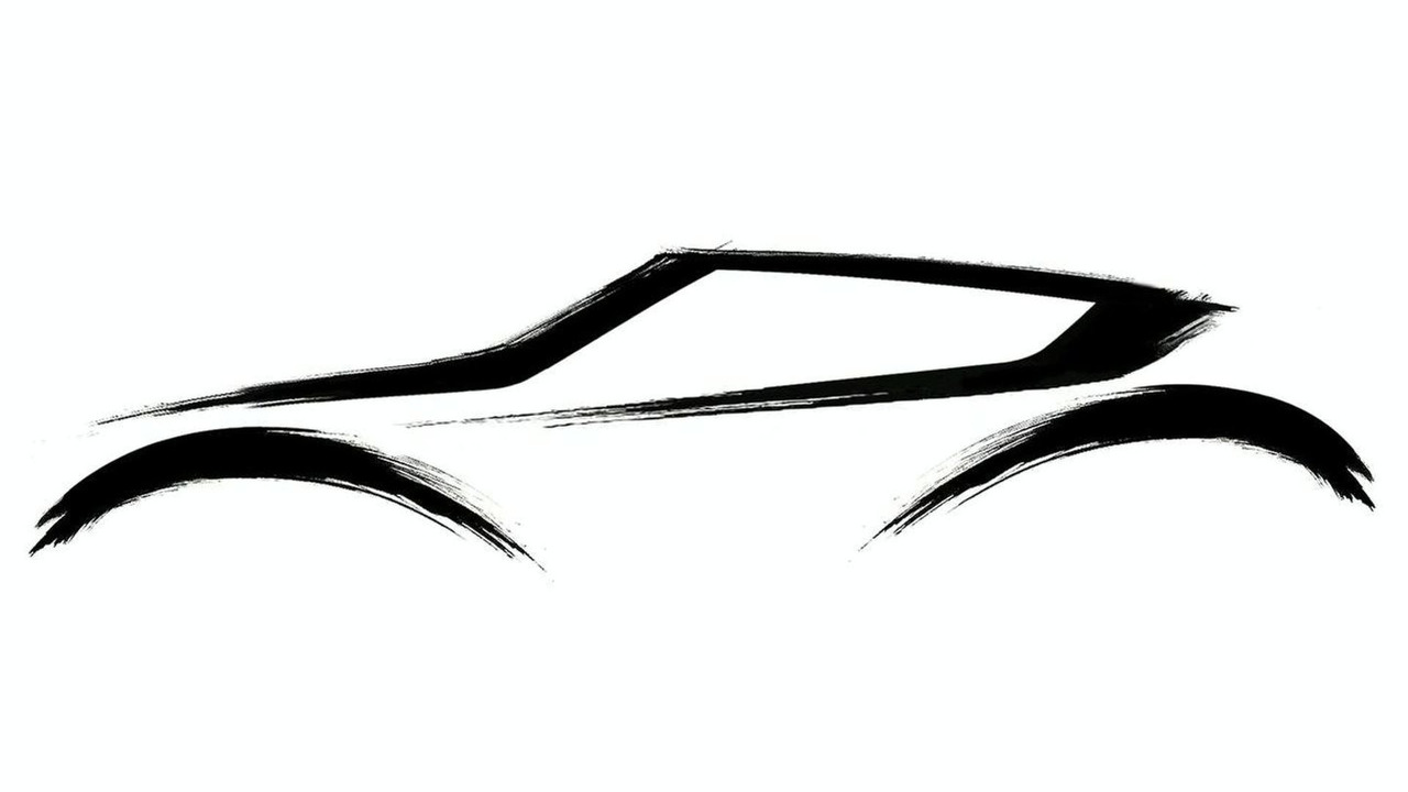 Nissan Qazan Compact Crossover Concept teaser sketch