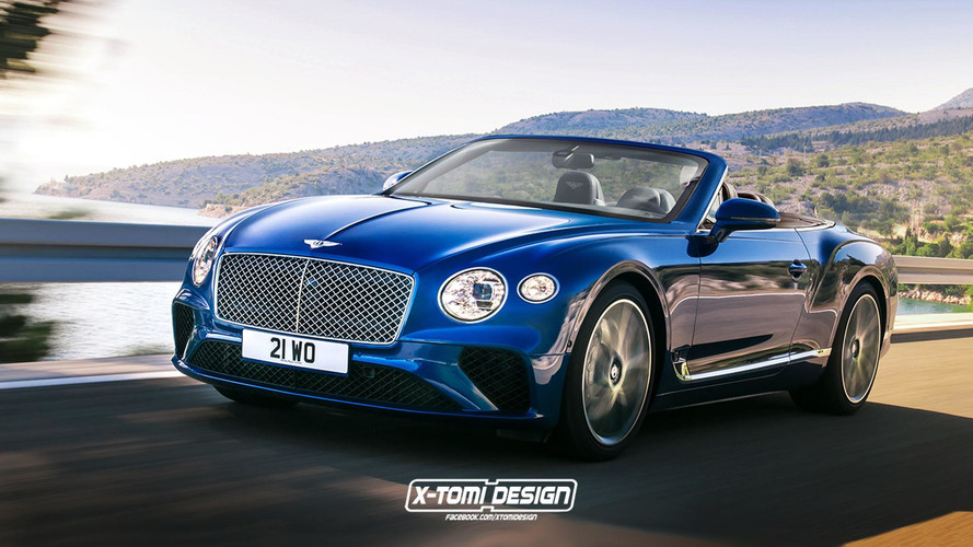 Bentley Continental GTC Render Seems Just About Right