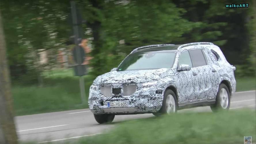 Future Mercedes GLB, GLS, EQ C Spied Testing In Germany