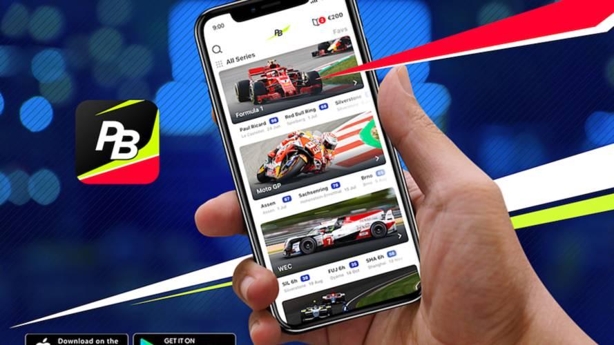 Motorsport Network lanza la app Pit Stop Betting de apuestas deportivas