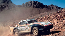 Porsche 959 Paris-Dakar in 1986