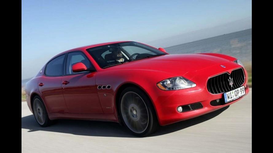 Crise, que crise? Governo italiano encomenda 19 Maserati Quattroporte