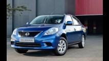 Nissan Versa é lançado na África do Sul com motor 1.5