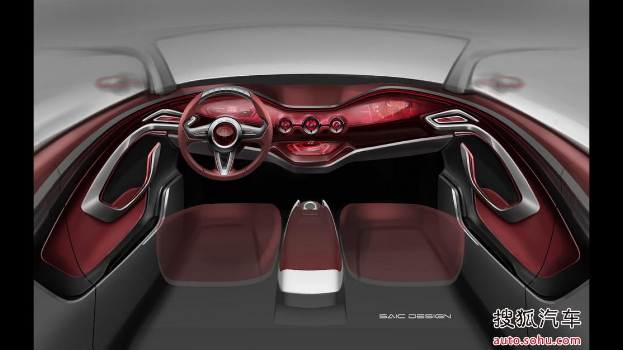 Salão de Pequim: MG revela primeiros esboços do Icon, seu rival para o Nissan Juke