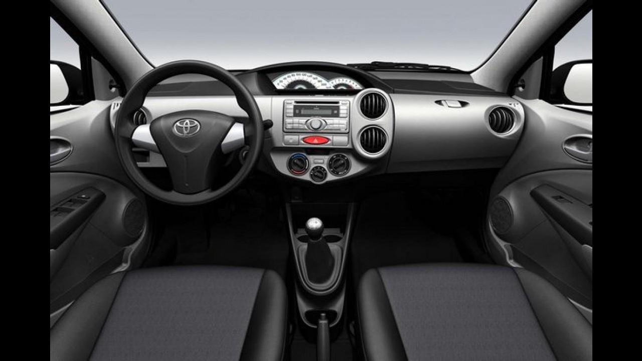 Inesperado! Toyota Etios faz sucesso em pré-venda na Argentina