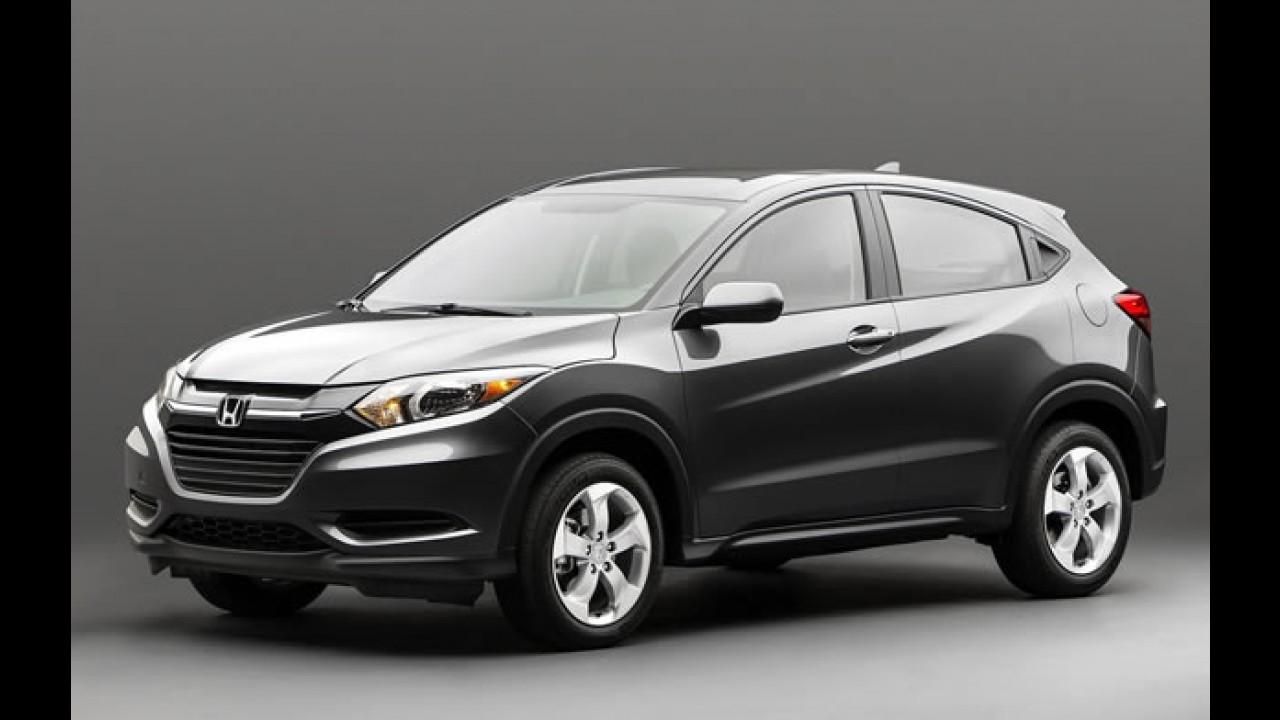 Salão de Paris: Honda mostrará versão europeia do HR-V