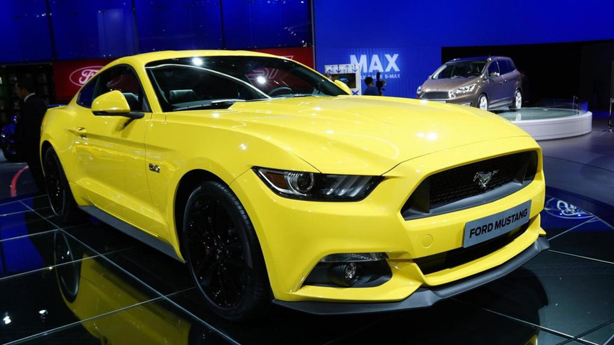 Euro-spec Ford Mustang arrives in Paris, sales start in 2015