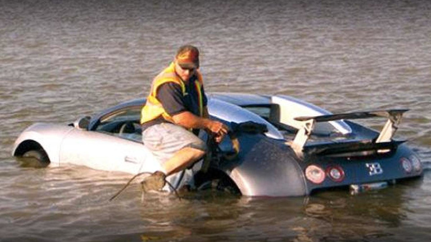Bugatti Veyron lake crash was attempted insurance fraud, faces 20 years in prison