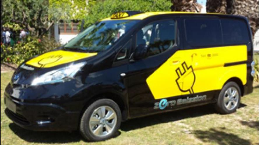 Nissan e-NV200, partita la produzione