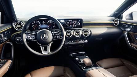 2018 Mercedes A-Class Reveals Its High-Tech Interior
