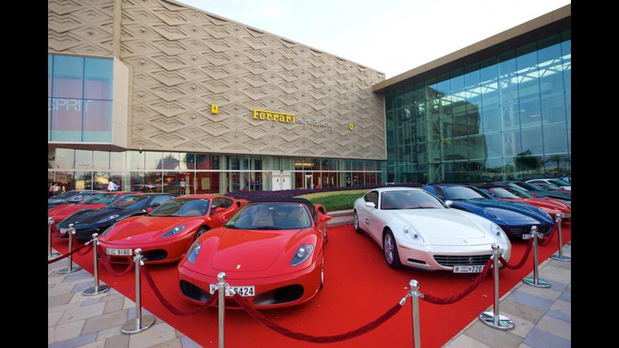 Aperto a Dubai il Ferrari Store più grande al mondo