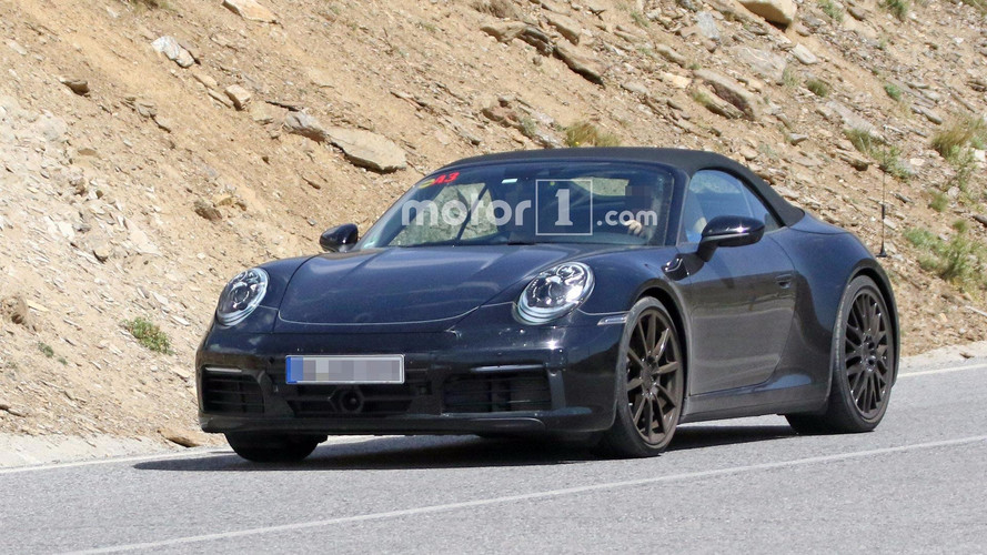 Next-Gen Porsche 911 Cabriolet Spied Enjoying Mountain Roads