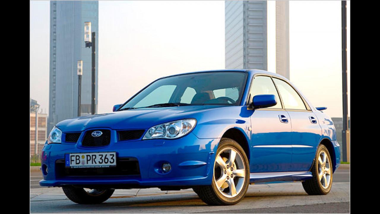 Subaru mit Rallye-Feeling
