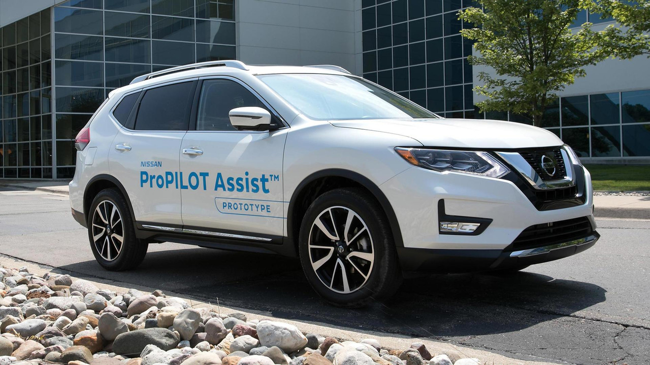 Nissan ProPilot Assist Prototype