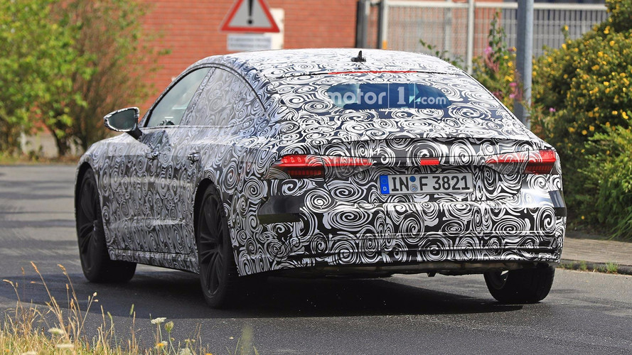 2018 audi a7. simple audi audi a7 spy shots inside 2018 audi a7