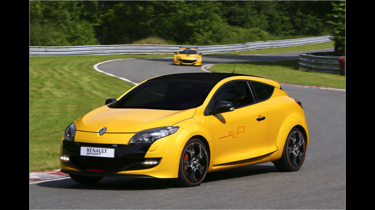 Renault Megane RS Trophy, Laurent Hurgon, 2011