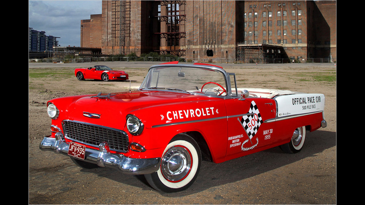 Indianapolis 500 1955: Chevrolet Bel Air
