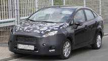 Ford Fiesta facelift spy photo 24.5.2012