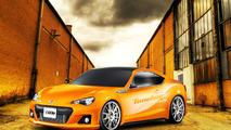 Subaru BRZ by Tunehouse rendering 06.4.2012
