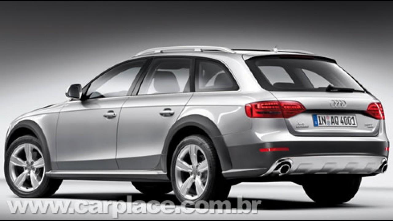 Audi irá apresentar o A4 allroad quattro 2010 no Salão de Genebra