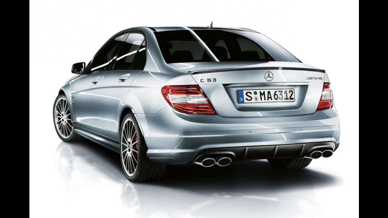 Mercedes-Benz divulga o C63 AMG Performance Package Plus com 487 cv