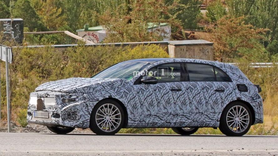 Photos espion - La future Mercedes-AMG A 40 2018 en cours d'essais